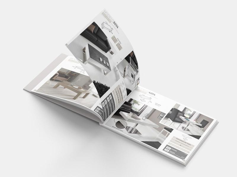 Diseño Catálogos Muebles Yecla