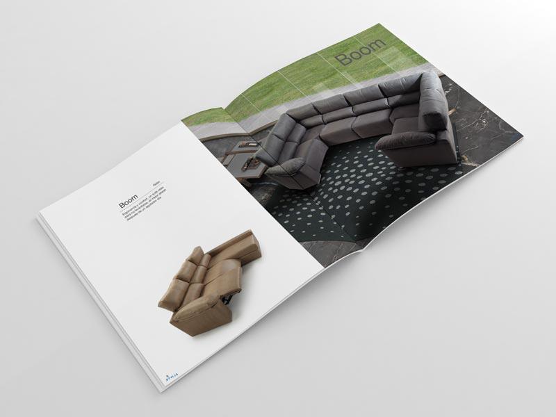 Diseño de Catálogos Tapiceria Yecla