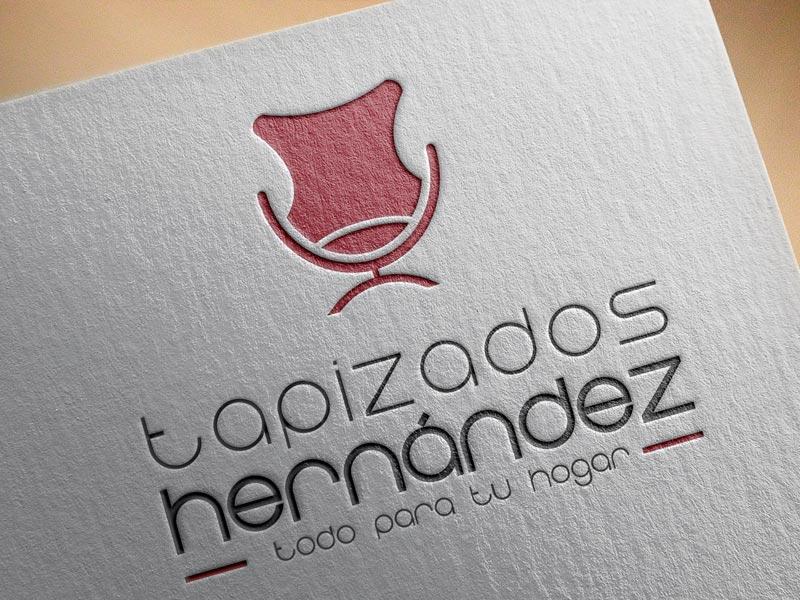 Diseño de Logotipo Yecla. Tapizados Hernández
