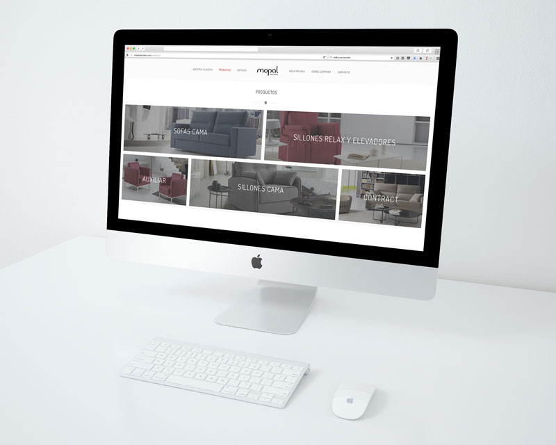 Página web Mopal