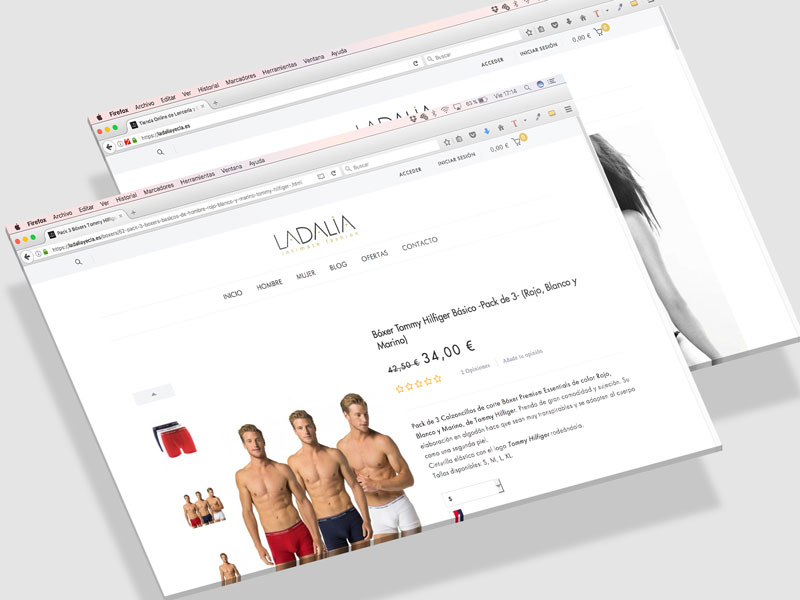 Diseño tienda online en Yecla, La Dalia