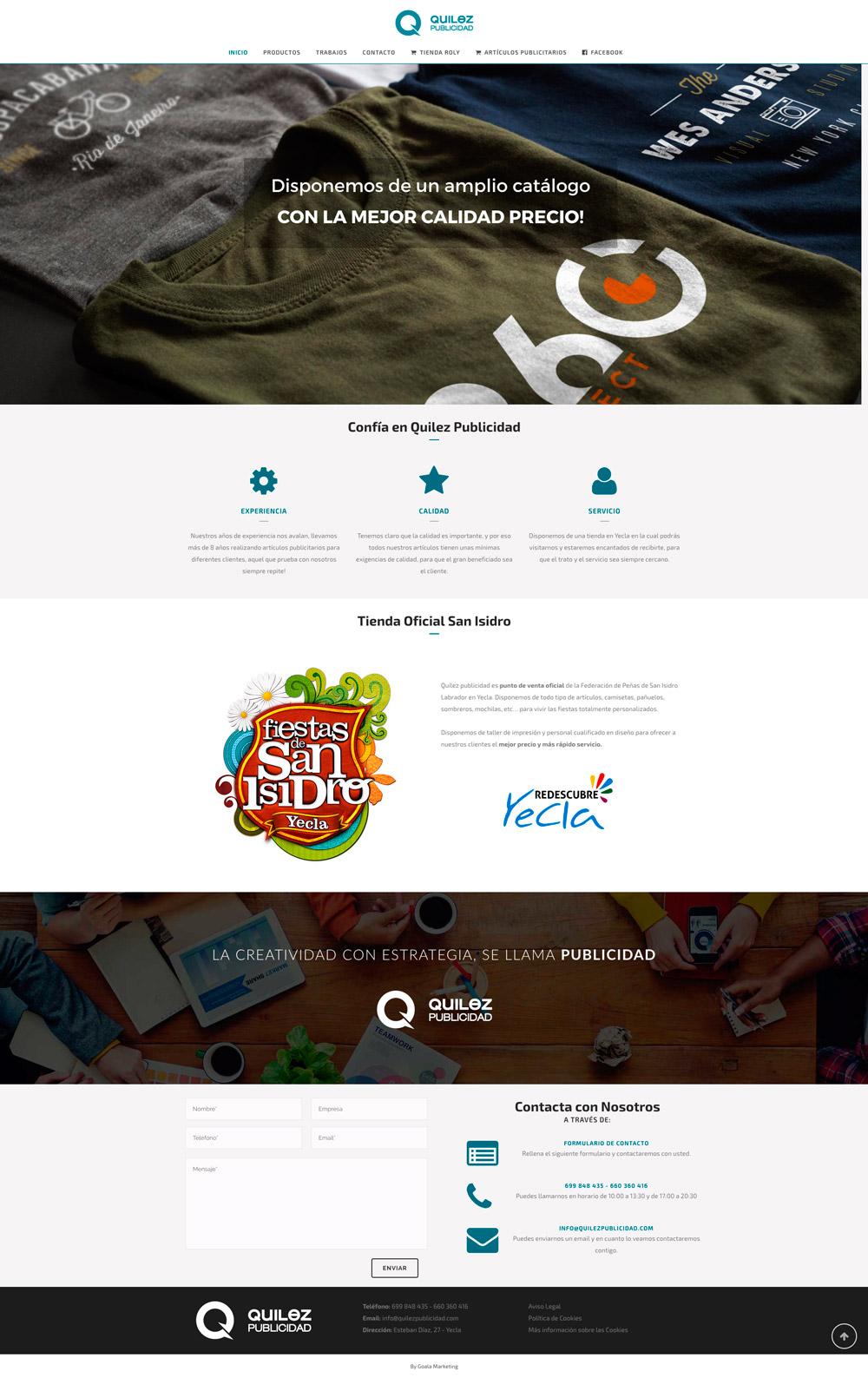 Diseño web agencia marketing 360