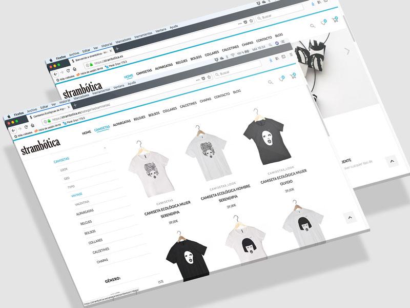 Tienda Online strambotica
