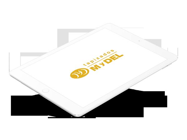 diseño web tapizados mydel
